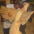 michael blaine - chainsaw carving master